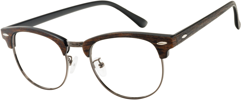 This classical style looks as fresh today features a distinct blackwood texture finish. The medium wide frame works well for prescription glasses or sunglasses. Wear these up to become the the brightest star of any occasion. VlookOptical prescription glasses have a luxurious and elegant look. Will give you a comfort wearing experience. Please note, the actual color and pattern on eyeglasses may vary slightly from pictured.