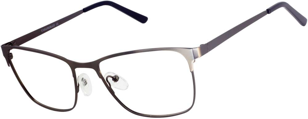VK 6180 Rectangle glasses is made of metal material and full of classical and casual sense. This frame is perfect for any occasion.  The metallic design add a futuristic touch, the full rimmed shape of the lens frames make the frame attractive and noticeable. The metal material means that the frame are lightweight and easy to wear and adjustable nose pads and lightweight temple arms keep the look both functional and trendy.