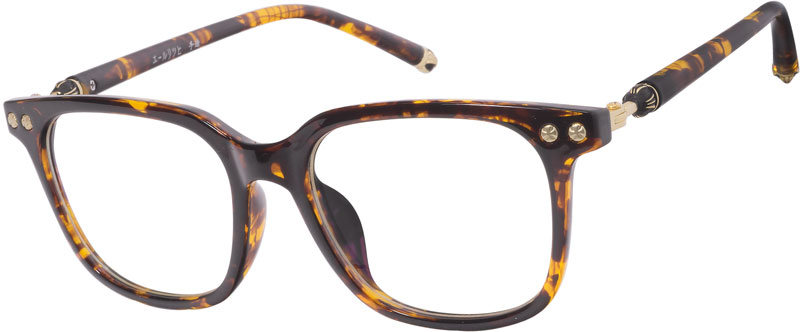 Vintage elegant and classic styling with a square frame that blends perfectly with the ochre, chic temple design. Made of lightweight TR90 material. The glasses work well for prescription sunglasses, reading glasses or distance glasses.  Lens width 54mm, lens height 42mm, temple arm length 142mm. the weight is 18.60gram.