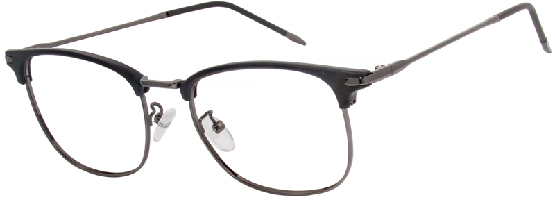 The modern and slightly understated design will bring fashion to the end. The medium-width eyebrow frame with perfectly electroplated ultra-light metal temple create a unique frame is the ultimate choice for high-end fashion.VlookOptical prescription glasses have a luxurious and elegant look. Will give you a comfort wearing experience. Please note, the actual color and pattern on eyeglasses may vary slightly from pictured.