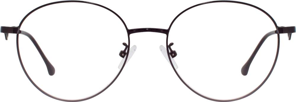 The designer endowed  VK D2905 Round Glasses with two different styles. It's classical and dignified when looking from the front. And the temple arms' side decoration is streamlined with beating and fashionable electrocardiogram pattern, which is like a beating heart. When the two are combined, is it like some of you, waiting to find different you from the side.