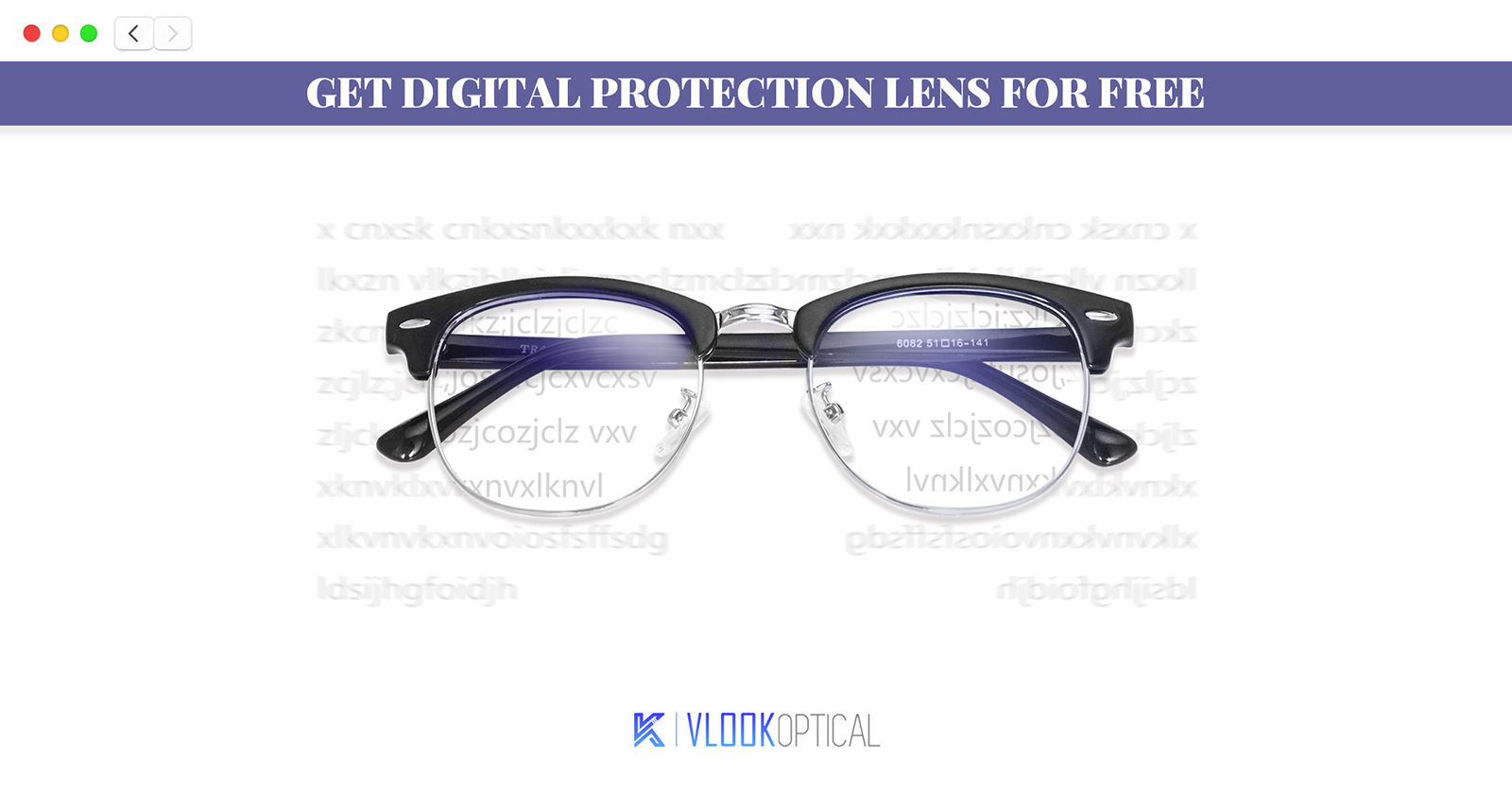 Get Free Blue Light Blocking Lens