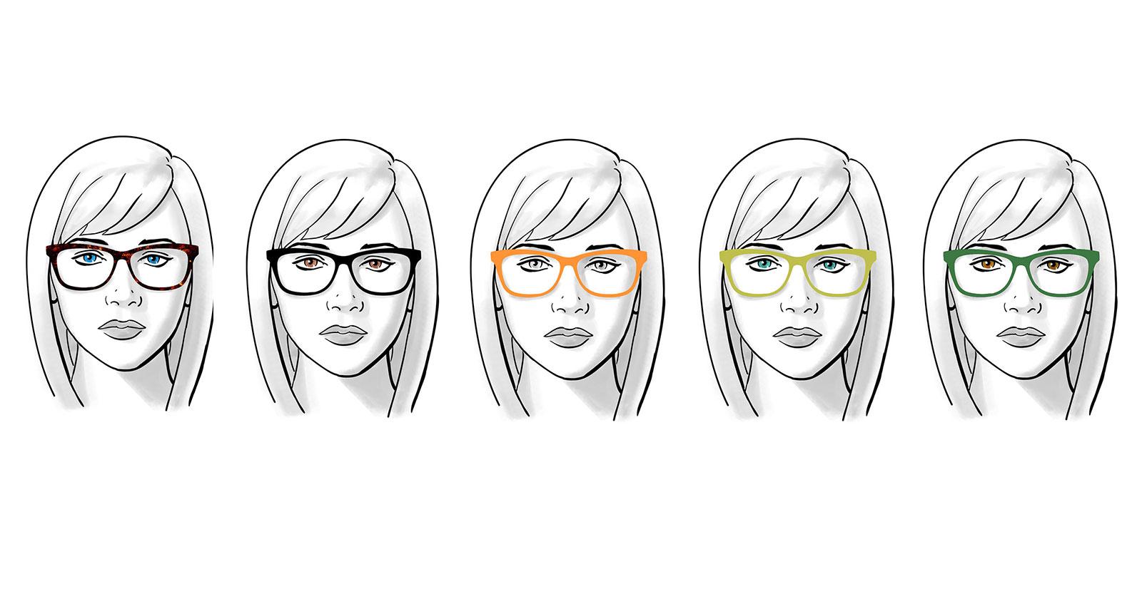 Best Color Glasses For Blue Eyes