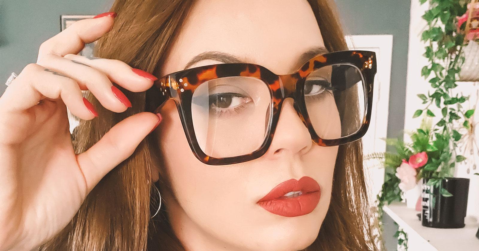 Purchase Leopard Print Eyeglasses Frames