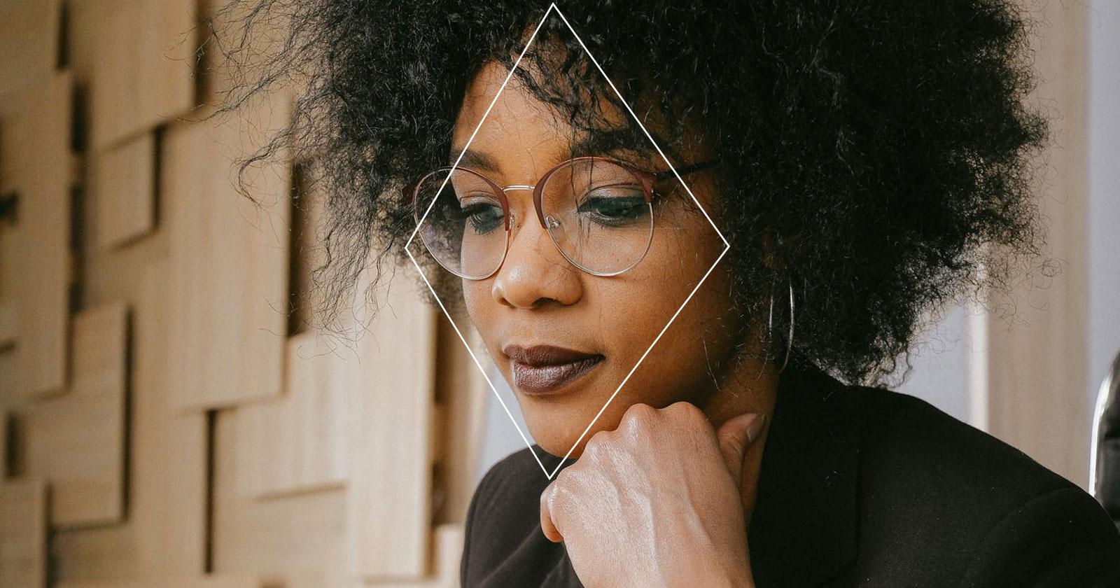 Eyeglasses for Diamond Face Shape