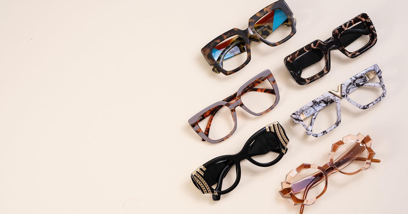 Colorful Eyeglasses Frames - Multi-Colored Eyewear